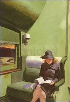 Edward Hopper, Abteil C Wagen 293