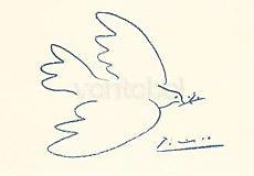 Pablo Picasso, Friedenstaube (1950)