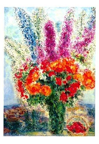 Marc Chagall, Blumenstrauß