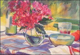 Sue Wales, Französischer Gartentisch