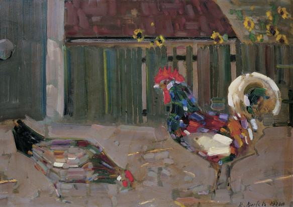 Rudolf Bartels, Huhn und Hahn