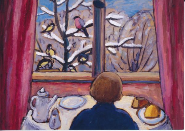 Gabriele Münter, Das Frühstück der Vögel