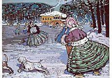 Wassily Kandinsky, Winter (Eislauf)