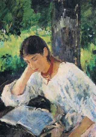 Valentin Serov, Die Cousine des Künstlers