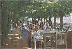 Max Liebermann, Terrasse im Restaurant Jacob