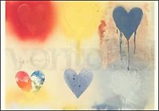 Jim Dine, Small Heart Painting Nr. 12, 1970