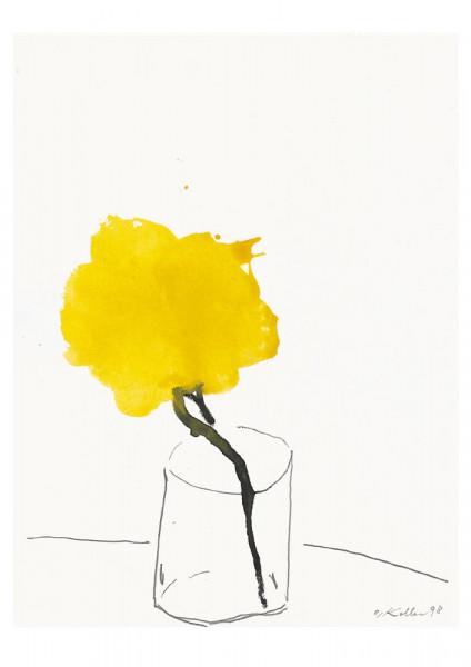 Oskar Koller, Gelbe Blüte