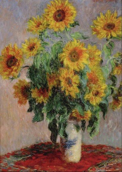Claude Monet, Sonnenblumenstrauß