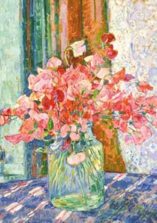 Theo van Rysselberghe, Süßerbsenblüte