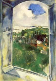 Marc Chagall, Sicht auf Brehat