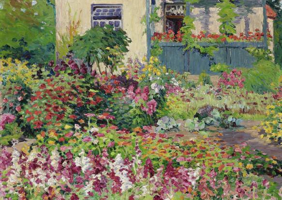 Bertha Schilling, Garten