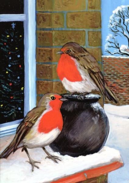 Margaret Loxton, Rotkehlchen im Schnee