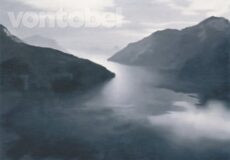 Gerhard Richter, Vierwaldstätter See, 1969