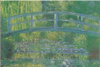 Claude Monet, Seerosen, Harmonie in Grün