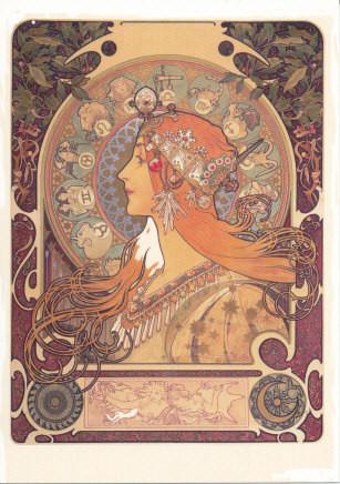 Alfons Mucha, Zodiac