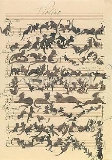 Moritz von Schwind, Katzensymphonie
