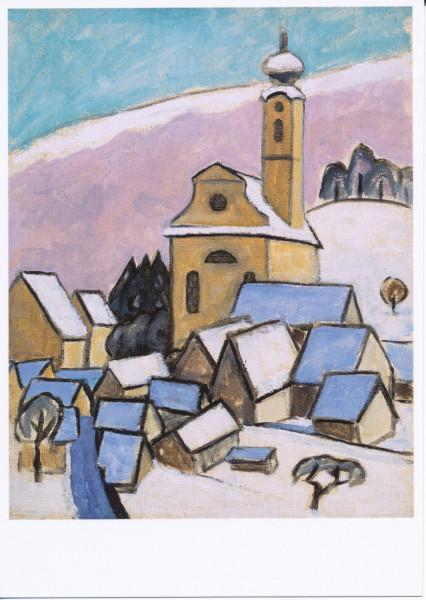 Gabriele Münter, Murnau im Schnee