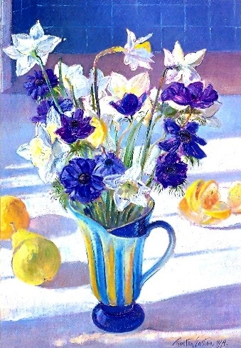 Timothy Easton, Frühlingsblumen und Zitronen