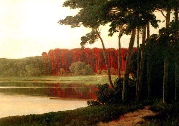Leistikow, Walter, Grunewaldsee oder Schlachtensee