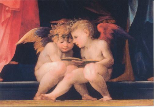 Giovanni Battista Rosso, Engelspaar