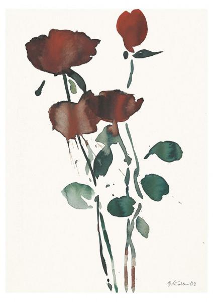 Oskar Koller, Vier Rosen