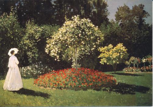 Claude Monet, Im Garten