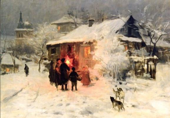 Nikolai Korniliewitsch Pimonenko, Heiligabend
