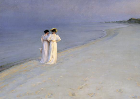 Peder Severin Kroyer, Sommerabend am Südstrand