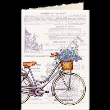 bicicleta fiorita