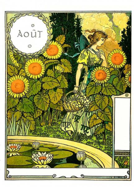 Eugène Grasset, August