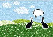 Zwei Hasen