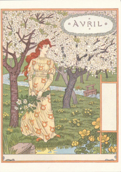 Eugène Grasset, April