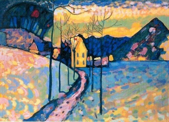 Kandinsky, Wassily, Winterlandschaft