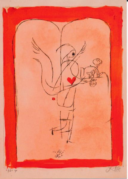 Paul Klee, Ein Engel serviert ein kleines Frühstück