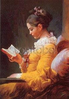 Jean Honoré Fragonard, Lesendes Mädchen