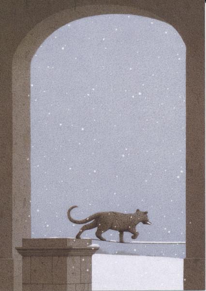 Quint Buchholz, Leopard im Schnee