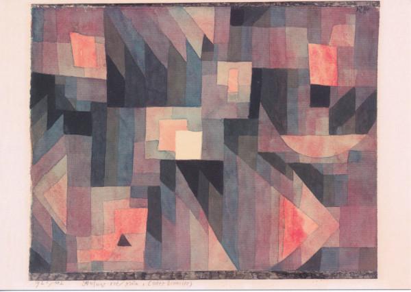 Paul Klee, Stufung rot/grün (roter Zinnober)