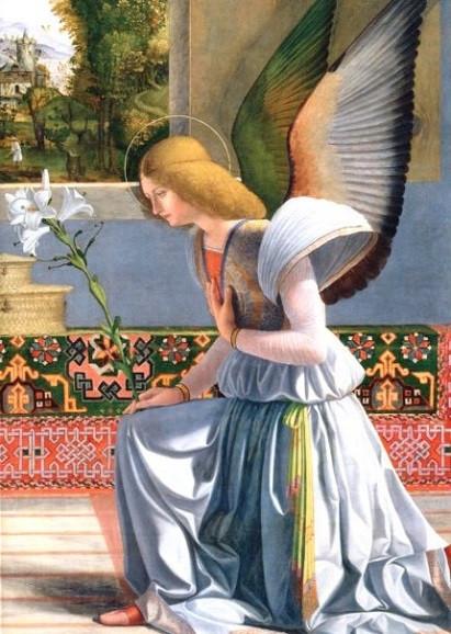Andrea Previtali, Verkündigung an Maria