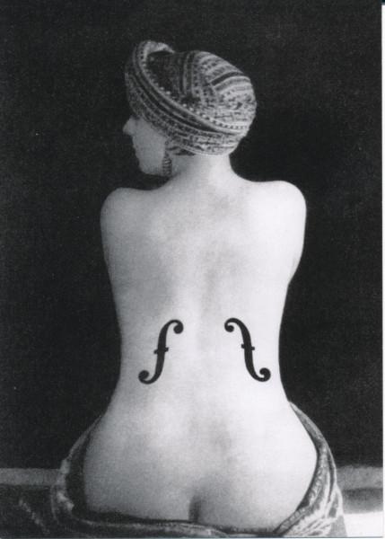 May Ray, Le violon d`Ingres
