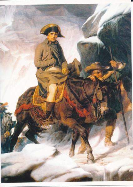 Paul Delaroche, Napoleon überquert die Alpen