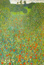 Gustav Klimt, Mohnwiese