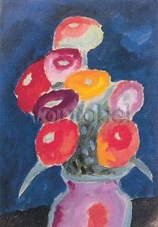 Alexej von Jawlensky, Blumen in einer Vase