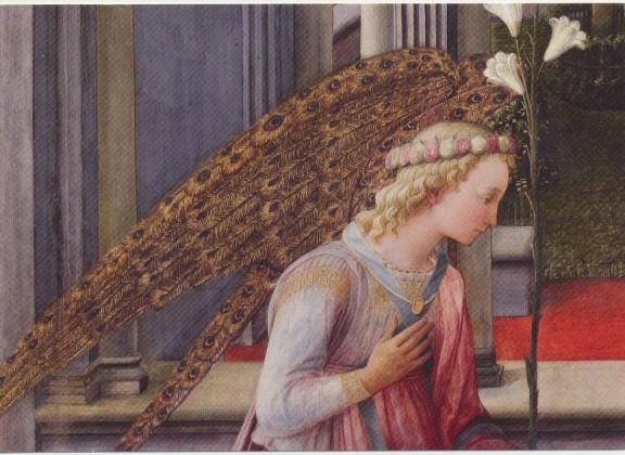Fra Filippo Lippi, Engel der Verkündigung