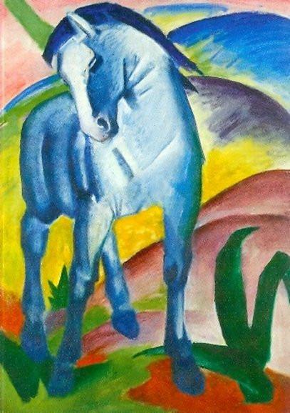 Franz Marc, Blaues Pferd, 1911