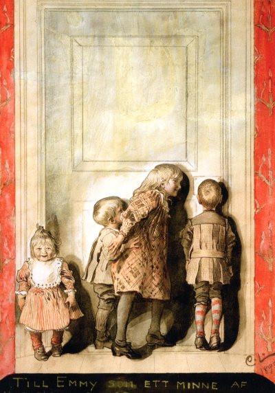 Carl Larsson, Der Tag vor Weihnachten