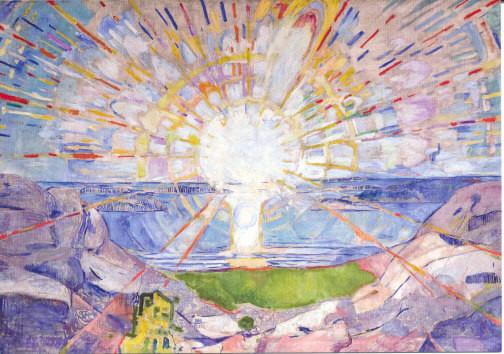 Edvard Munch, Die Sonne