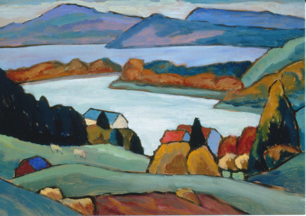 Gabriele Münter, Am Staffelsee