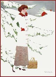 Coles Phillips, Chic im Schnee