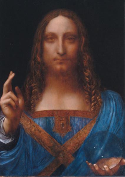 Leonardo da Vinci (?), Salvator Mundi