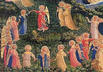 Artikel auf Anfrage, Fra Angelico, Das Jüngste Gericht